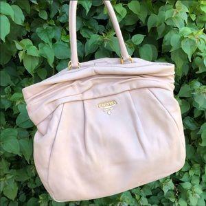 Large PRADA Calfskin leather Bag tote